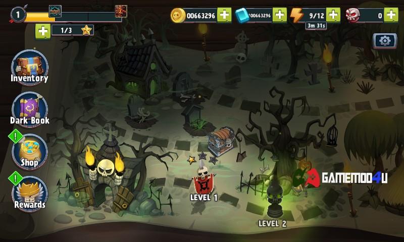 Đã test game chiến thuật phòng thủ tháp Archers Kingdom TD mod full tiền
