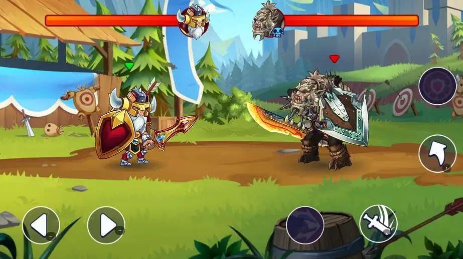 Đồ họa game đối kháng Tiny Gladiators 2 mod