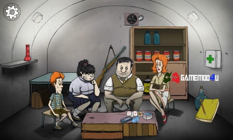 Hình ảnh các nhân vật trong game 60 Seconds mod apk
