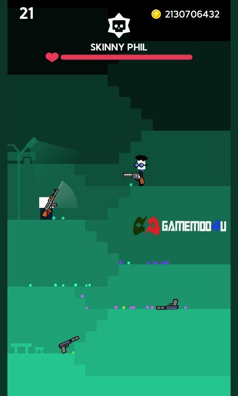 Hình ảnh trong game Mr Gun mod full tiền