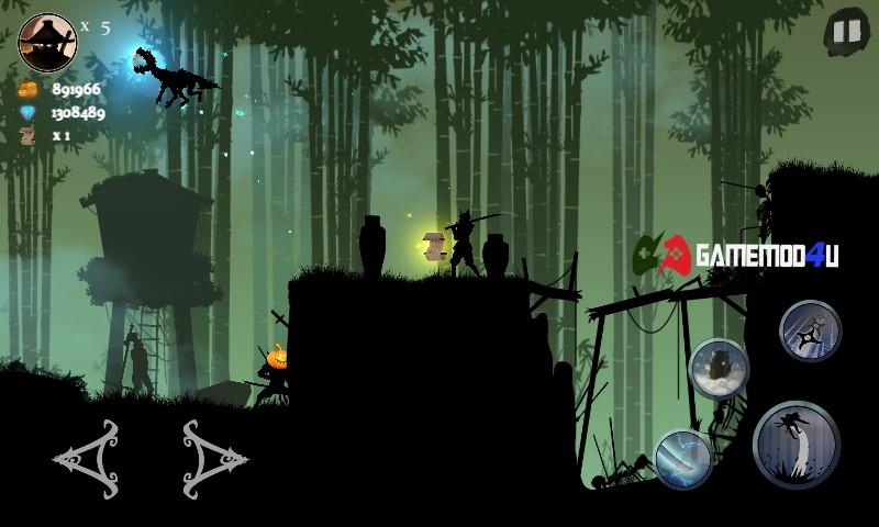 Hình ảnh trong game Ninja Arashi mod full tiền