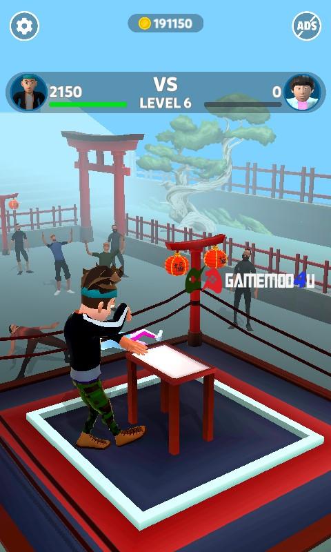 Hình ảnh trong game Slap Kings mod full tiền