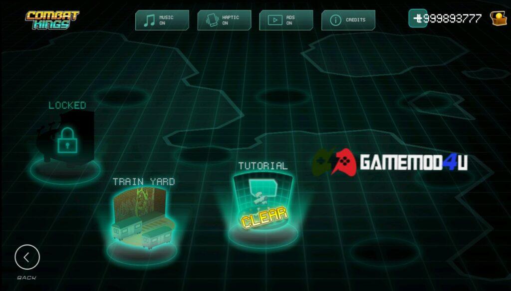 Đã chơi thử Combat Kings mod full tiền