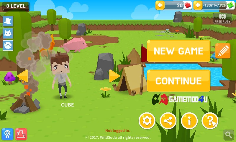 Đã test game Mine Survival mod full tiền
