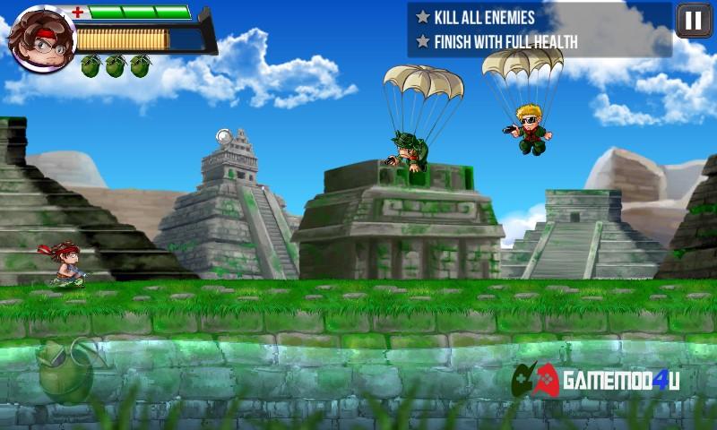 Hình ảnh trong game Ramboat 2 mod
