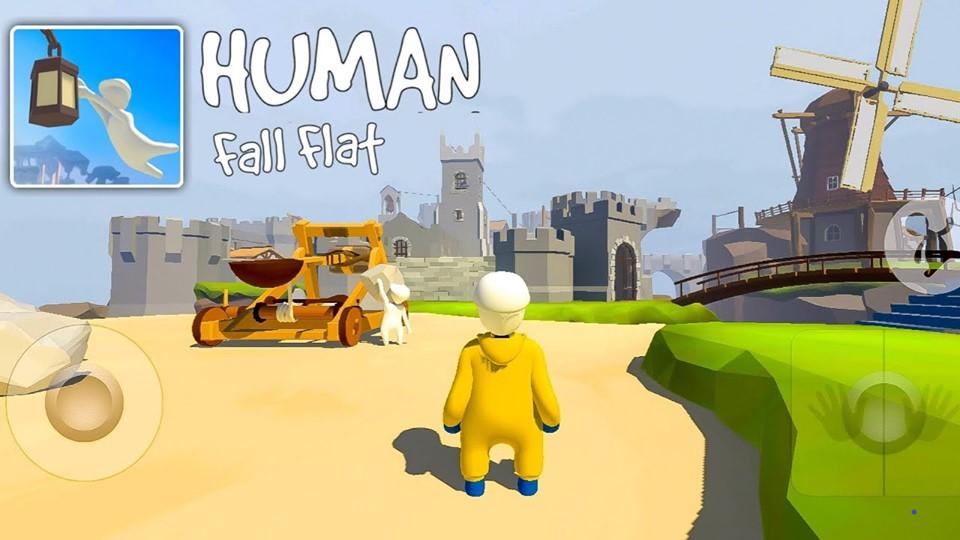 Tựa game Human Fall Flat mod apk full vô cùng hot trên pc và mobile