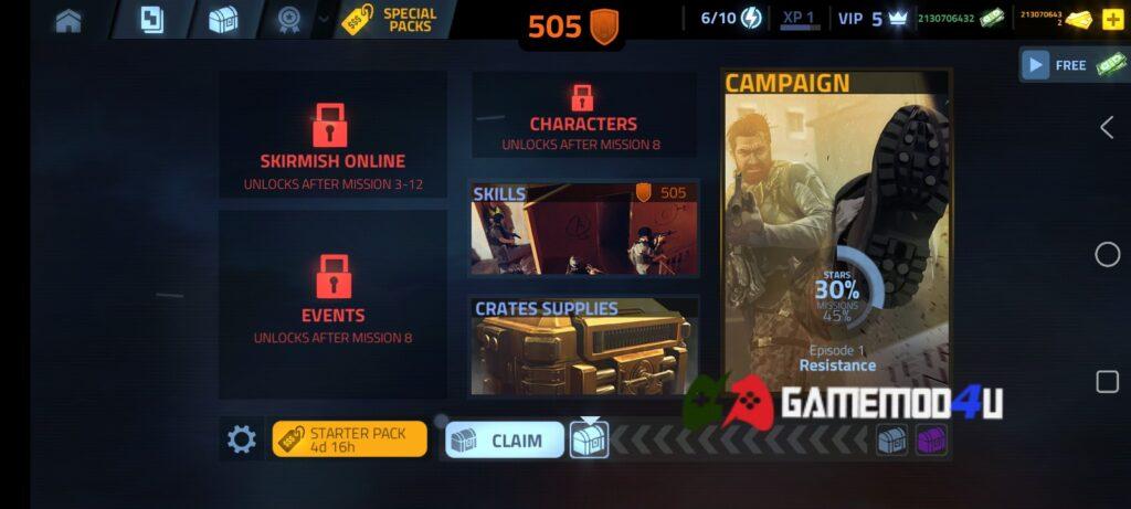 Đã chơi thử Cover Fire mod apk full tiền