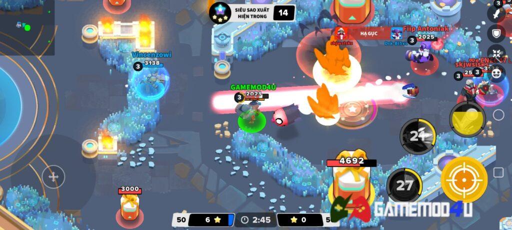 Hình ảnh trong game Heroes Strike mod apk