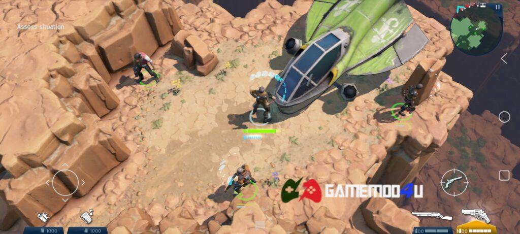 Hình ảnh trong game Space Marshals 3 mod apk full