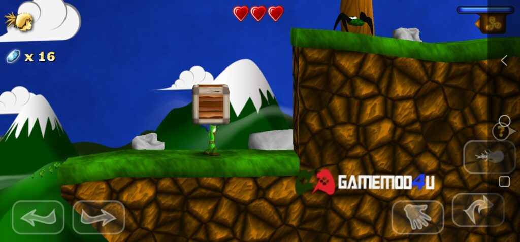 Hình ảnh trong game Swordigo mod apk