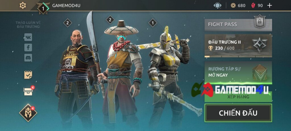 Đã chơi thử Shadow Fight Arena mod apk full cho Android