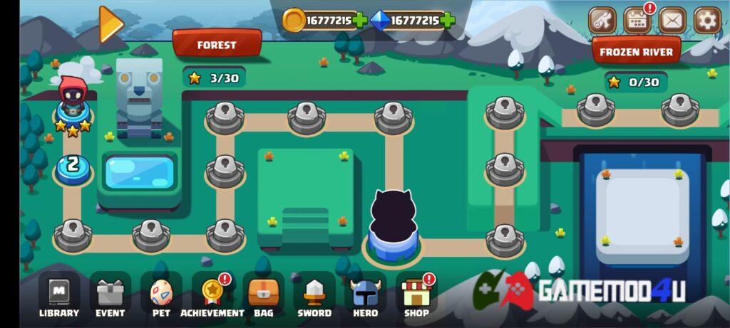 Đã chơi thử tựa game Swordman Reforged mod full tiền