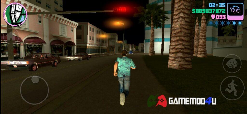 Hình ảnh trò chơi Grand Theft Auto Vice City mod apk full tiền