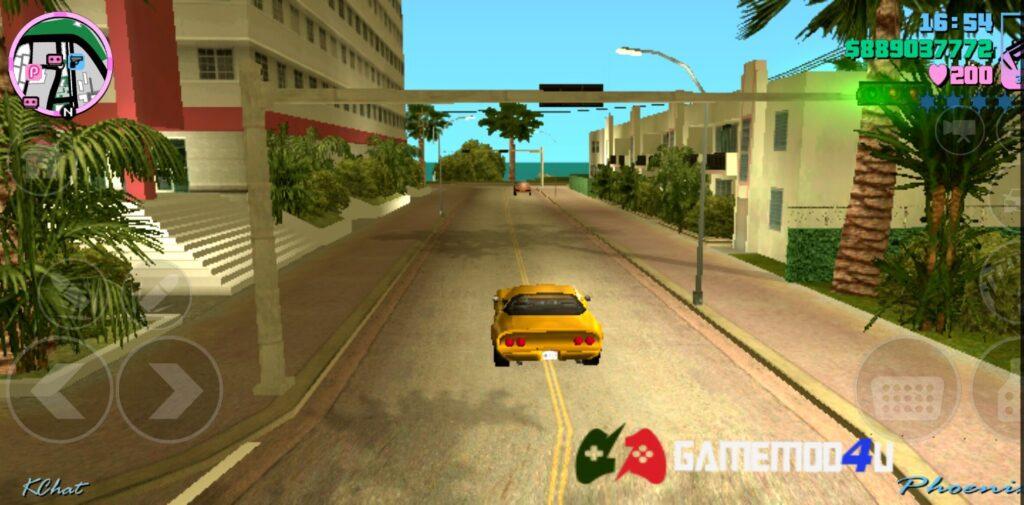 Hình ảnh trong game Grand Theft Auto Vice City mod full tiền