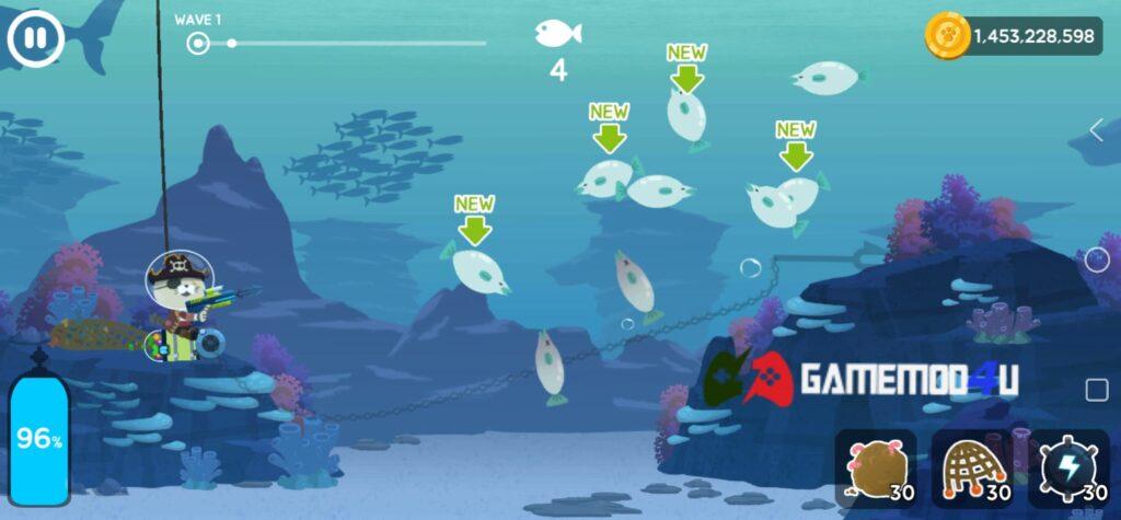 Hình ảnh trong game The Fishercat mod full tiền