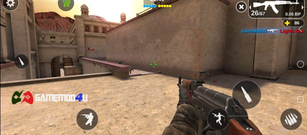 Hình ảnh trong game Counter Attack Multiplayer FPS mod full