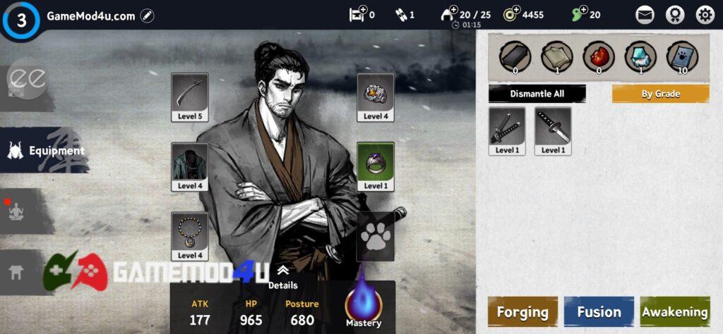 Đã test tựa game Ronin The Last Samurai mod menu full