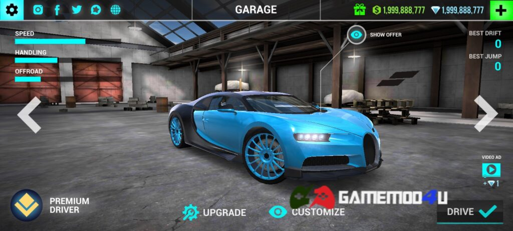 Đã test tựa game Ultimate Car Driving Simulator mod full tiền