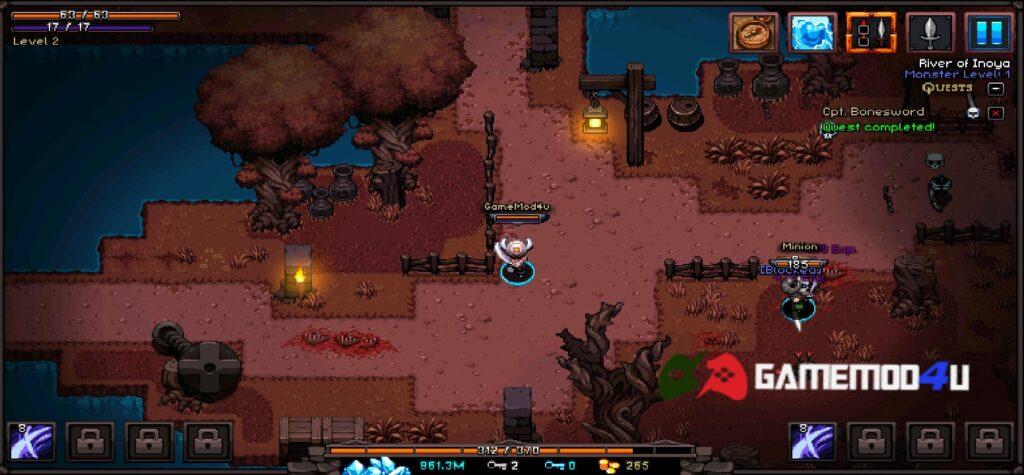 Hình ảnh trong game Hero Siege Pocket Edition mod full tiền