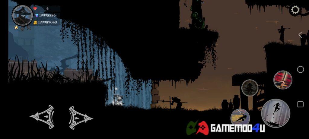 Hình ảnh trong game Ninja Arashi 2 mod full tiền