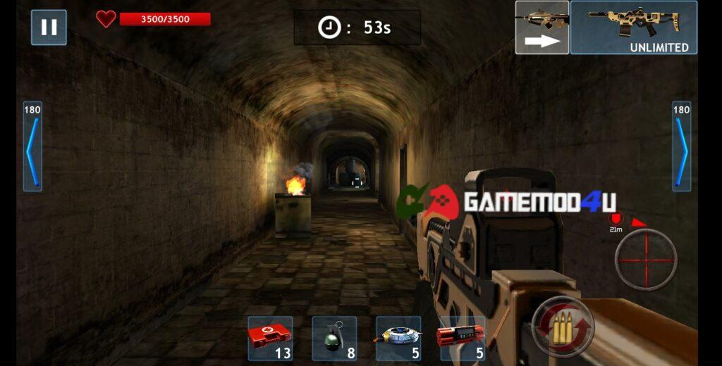 Hình ảnh trong game Zombie Objective mod