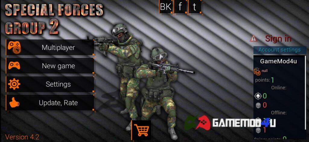 Đã test Special Forces Group 2 mod apk full tiền (mua sắm miễn phí)