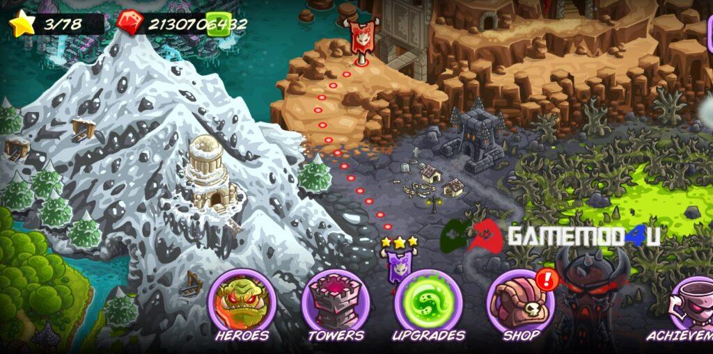 Đã test game Kingdom Rush Vengeance mod full tiền