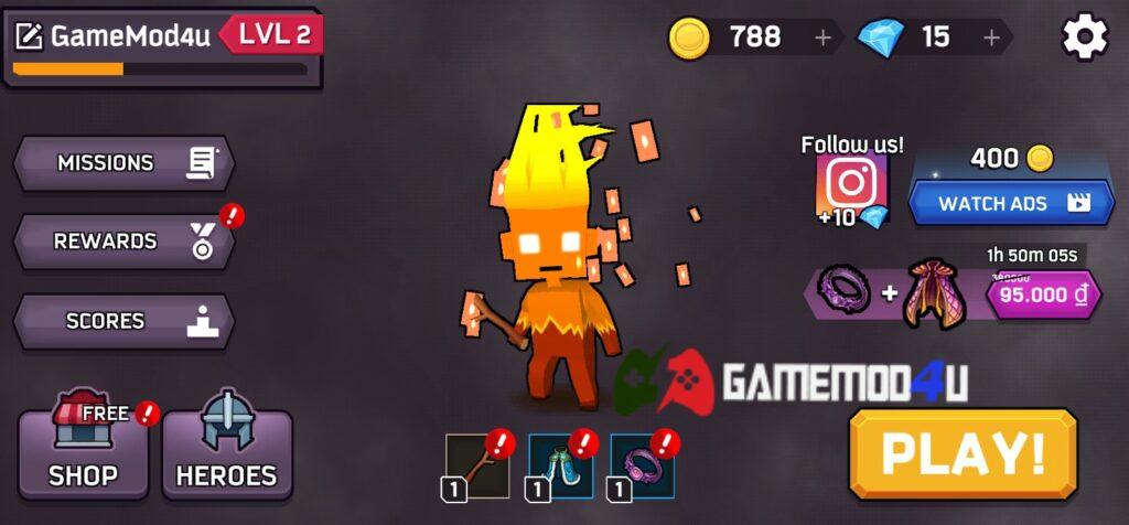 Đã test tựa game Magica.io mod full tiền (mua sắm miễn phí)