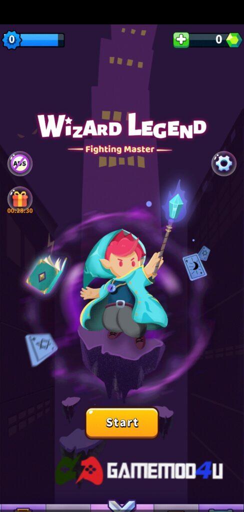 Đã test tựa game Wizard Legend mod full (mua sắm miễn phí)