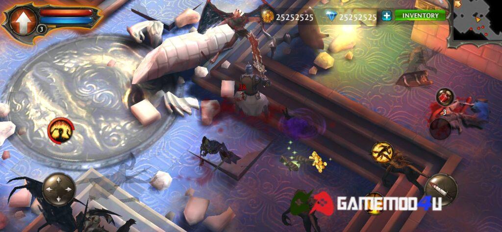 Hình ảnh trong game Dungeon Hunter 4 mod full tiền