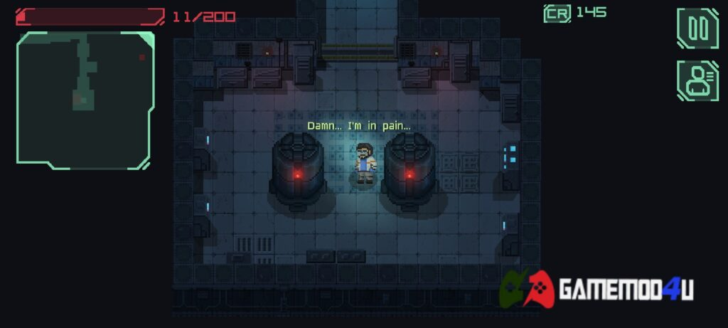 Hình ảnh trong game Endurance infection in space mod apk full