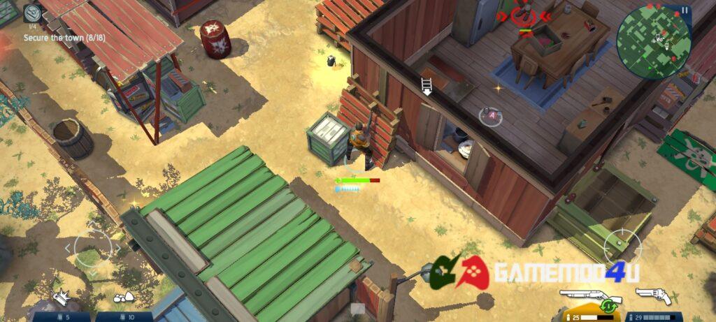 Hình ảnh trong game Space Marshals 2 mod apk full
