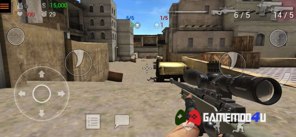 Hình ảnh trong game Special Forces Group 2 mod apk