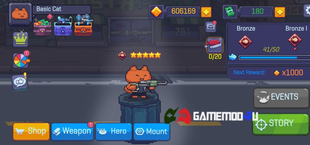 Đã test game Cat Gunner mod full tiền