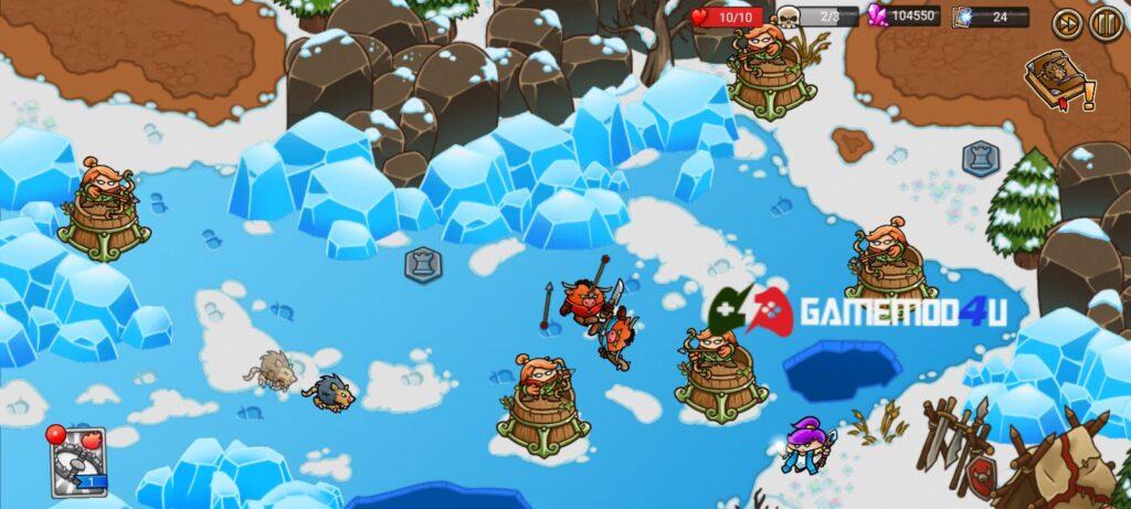Hình ảnh trong game Crazy Kings mod full tiền