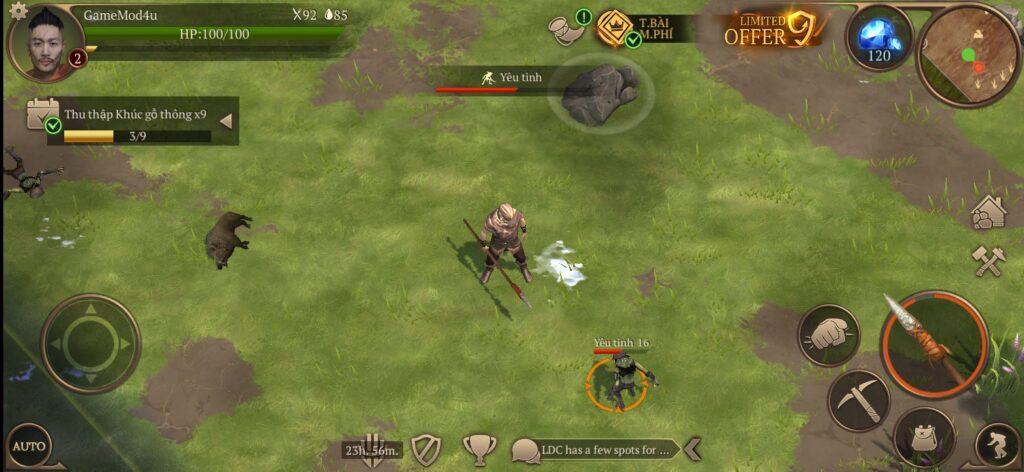 Hình ảnh trong game Stormfall Saga of Survival mod apk (bots stupid)
