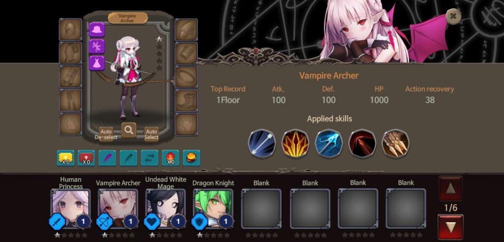 Nhiều nhân vật hấp dẫn trong Rogue-like Princess mod