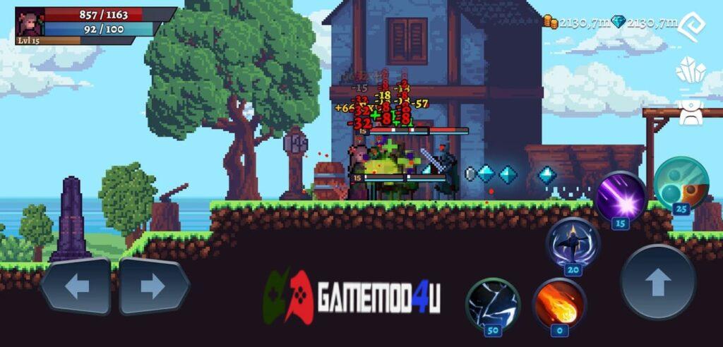 Đồ họa trong game Darkrise Mod full tiền