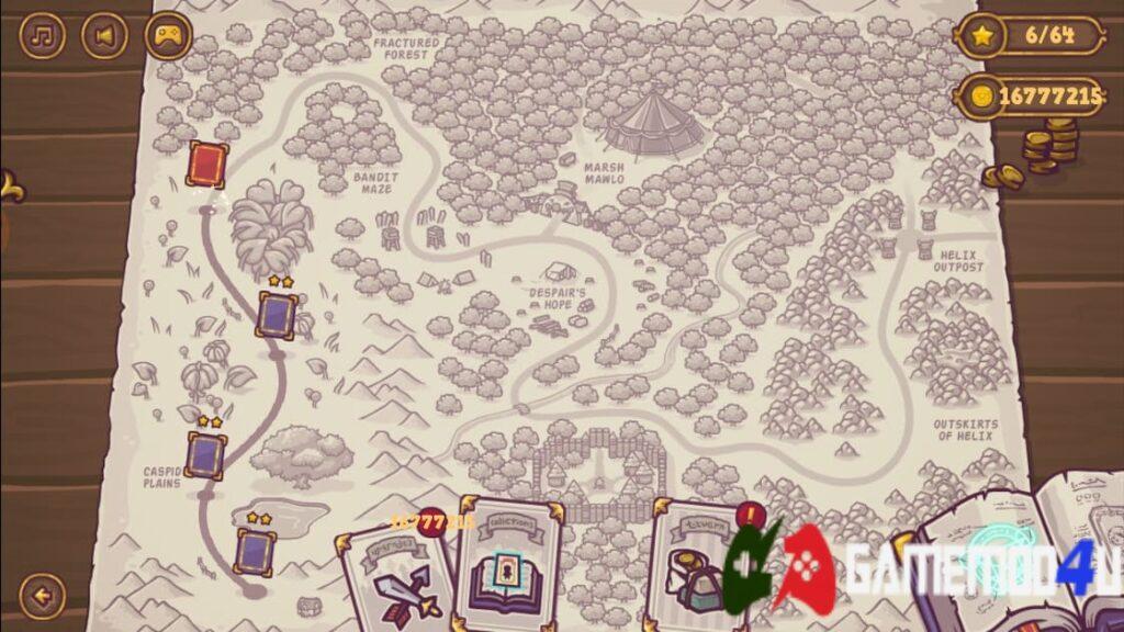 Map và các màn chơi trong Tiny Guardians Mod
