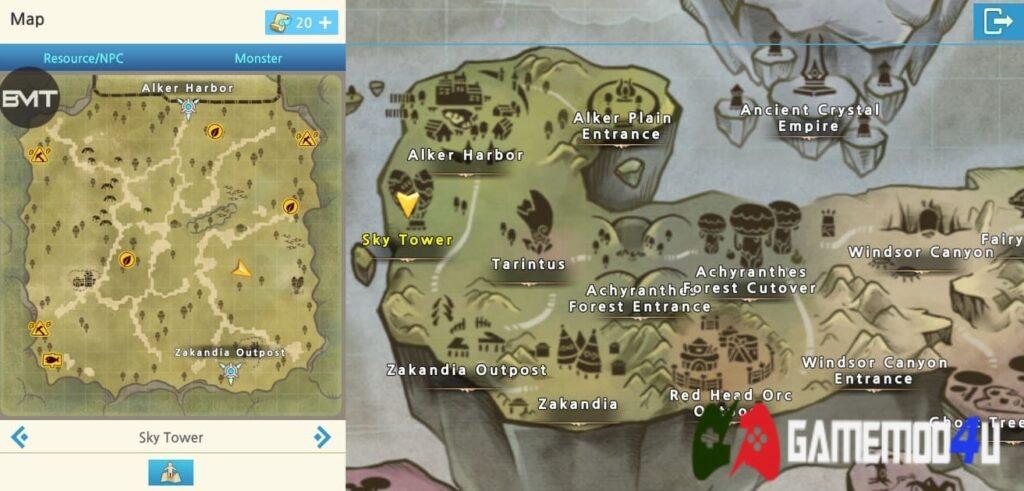 Map trong game LunaM:Ph Mod