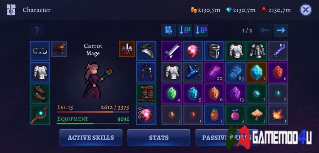 Trang bị trong game