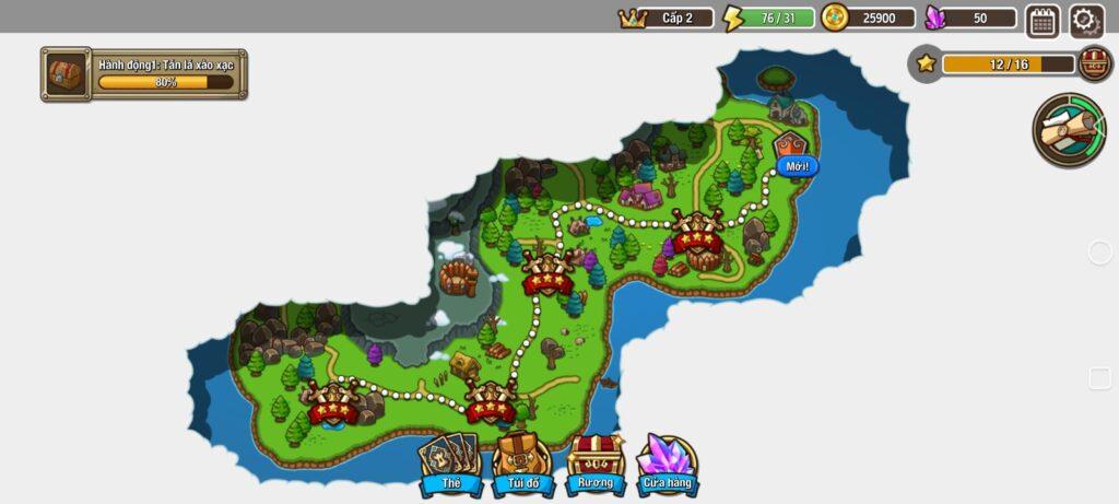 Đã test tựa game Crazy Defense Heroes mod full tiền (mua sắm miễn phí)
