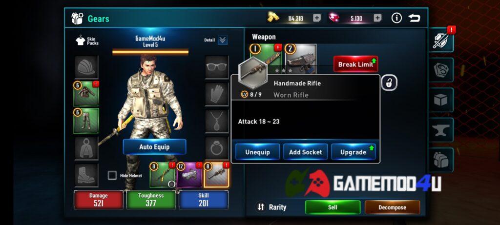 Đã test tựa game Cyber War Cyberpunk Reborn mod full tiền