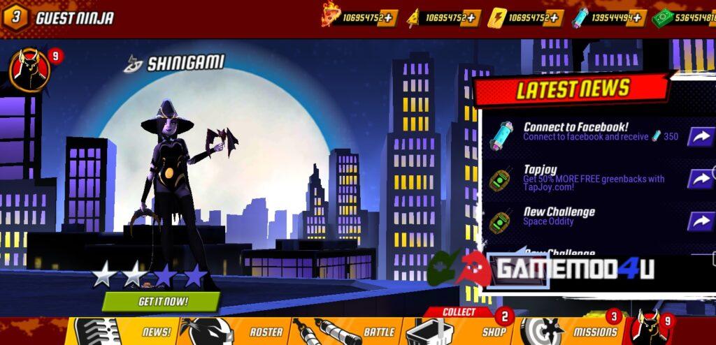 Đã test tựa game Ninja Turtles Legends mod full tiền