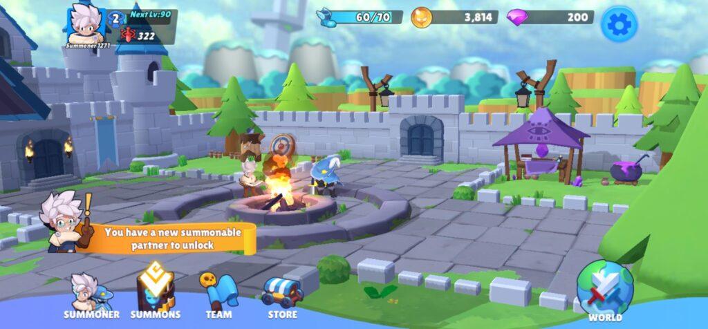 Đã test tựa game Summon Quest mod apk full (menu mod)