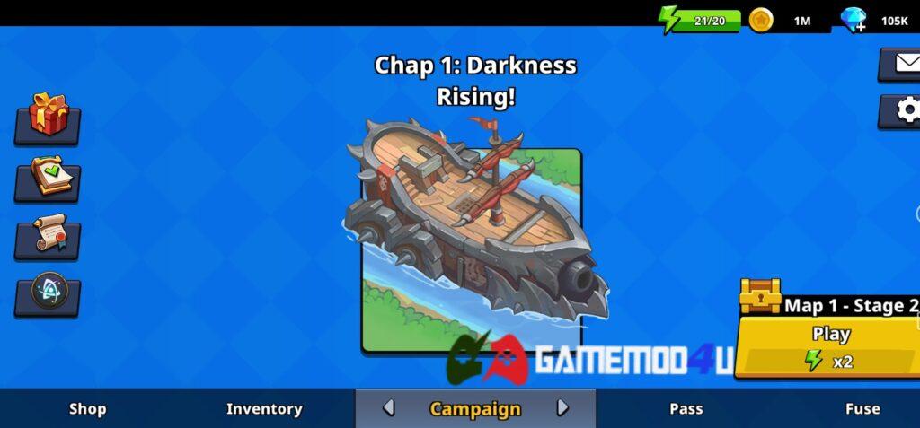 Đã test tựa game Summoner Defense mod full tiền