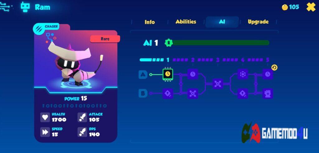 Nâng cấp pet trong game Botworld Adventure