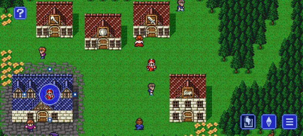 Đồ họa game FINAL FANTASY III mod pixel với cốt truyện thú vị