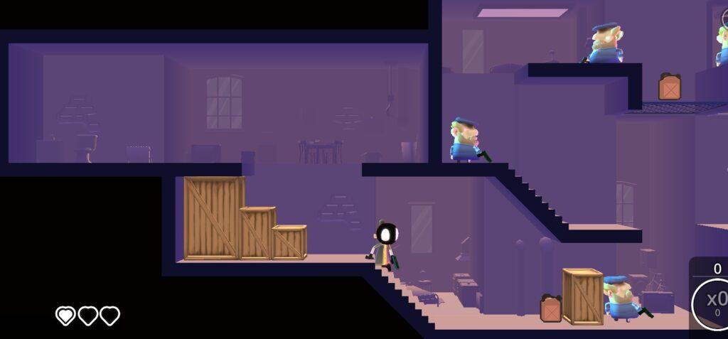Đồ họa trong game My Friend Pedro mod apk khá là đẹp