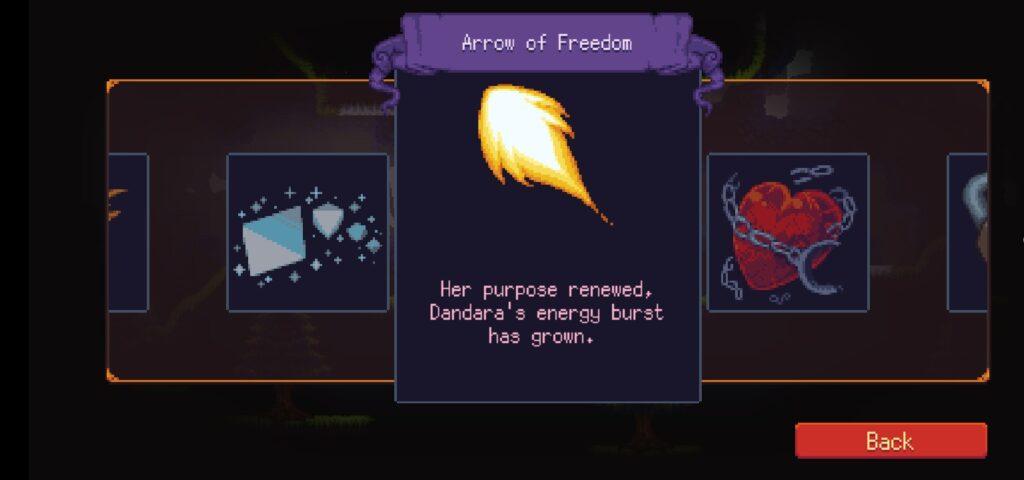 Game Dandara Trials of Fear Edition mod apk nhiều tính năng thú vị